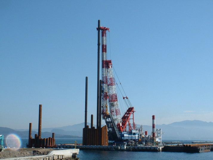 鹿児島港(中央港区)橋梁(B)A2建造工事