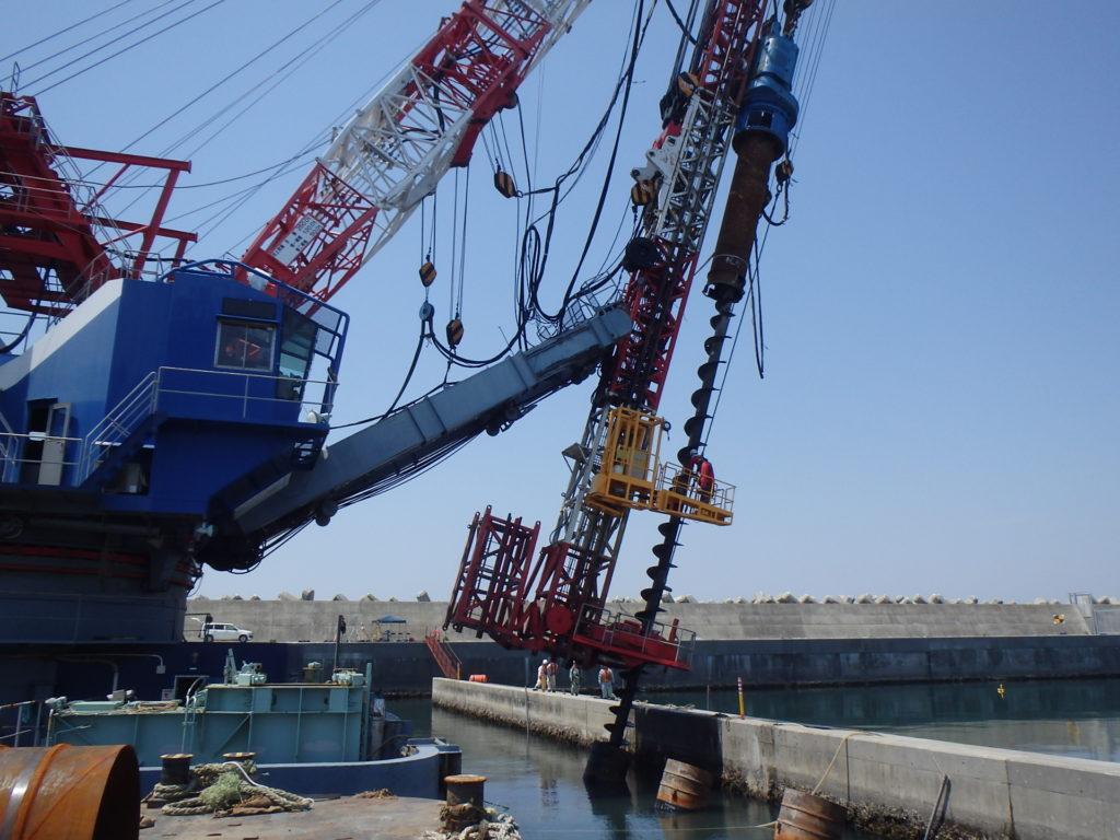 石巻漁港東波除堤外災害復旧工事
