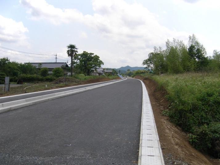 交付地改大第3-8-5号道路改良工事