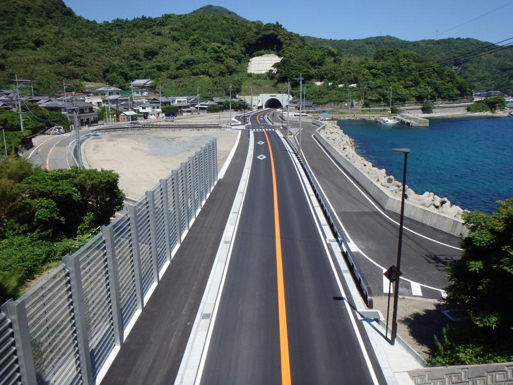 防安国改大第2-2号道路改良工事