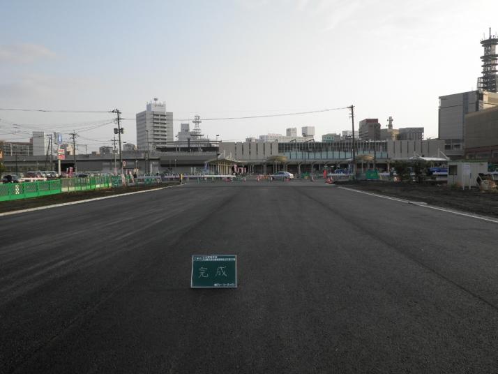 大分駅南区画大分駅上野丘線街路築造工事(2工区)