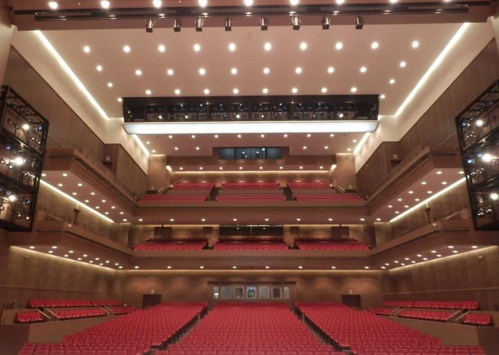 大分市複合文化交流施設工事 舞台音響・照明・機構・弱電設備