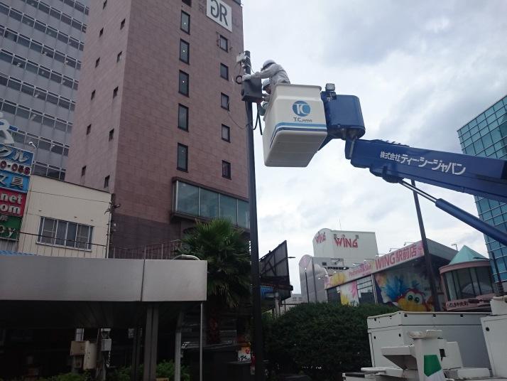 大分市駅周辺公衆無線LAN拡張工事 (アクセスポイント設備)