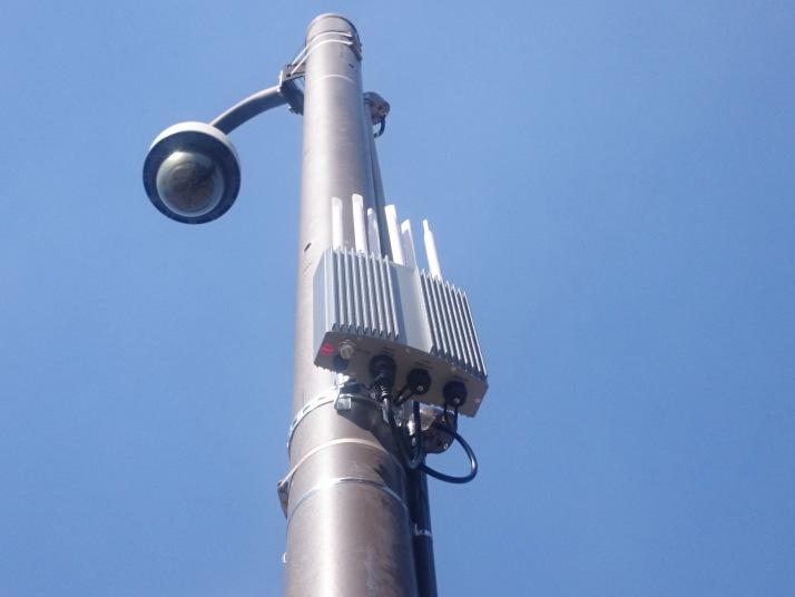 豊後大野市公共無線LAN設備事業 (原尻の滝アクセスポイント設備)
