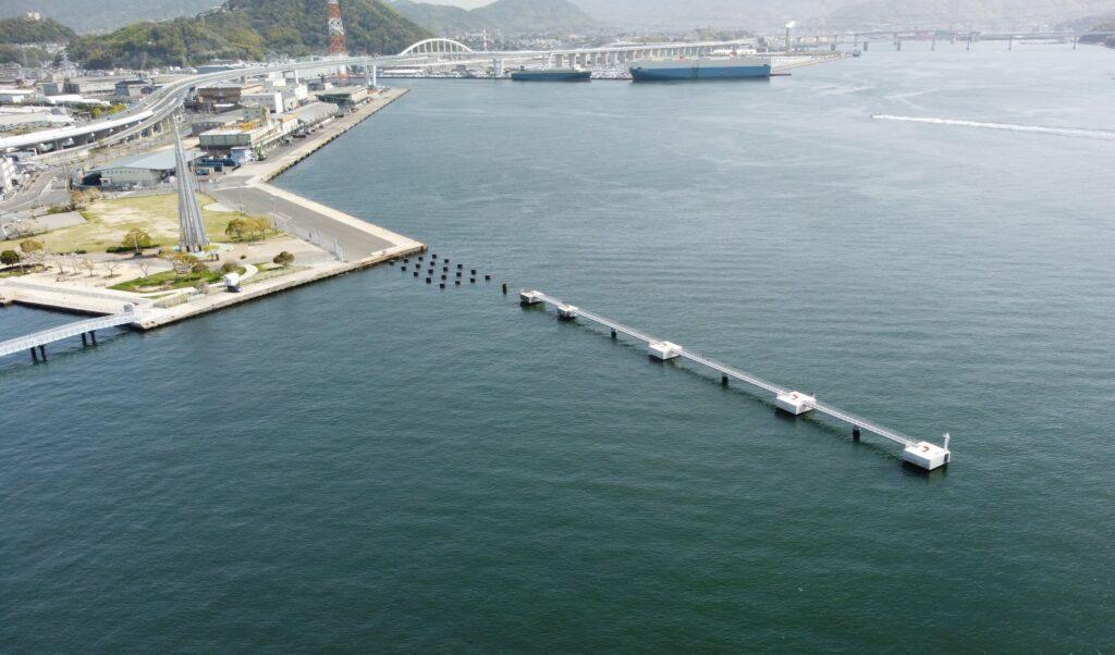 国際拠点港湾 広島港 宇品地区 岸壁改良工事(2工区)